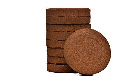 coconut coir soil disks