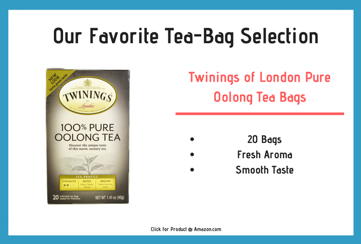 our favorite tea bag selection