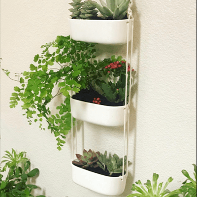 Mkono multi-tier hanging planter