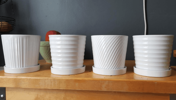 decorative ceramic pots for indoor plants