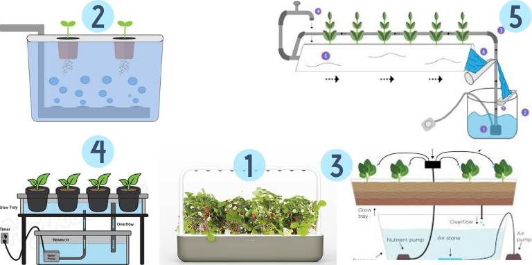 hydroponic systems diagram