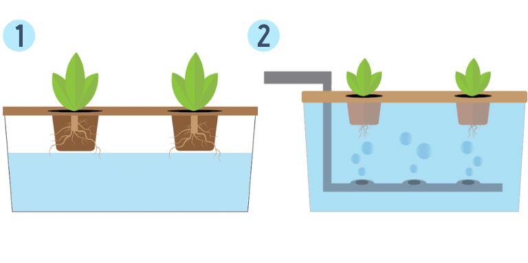 hydroponic open systems diagram