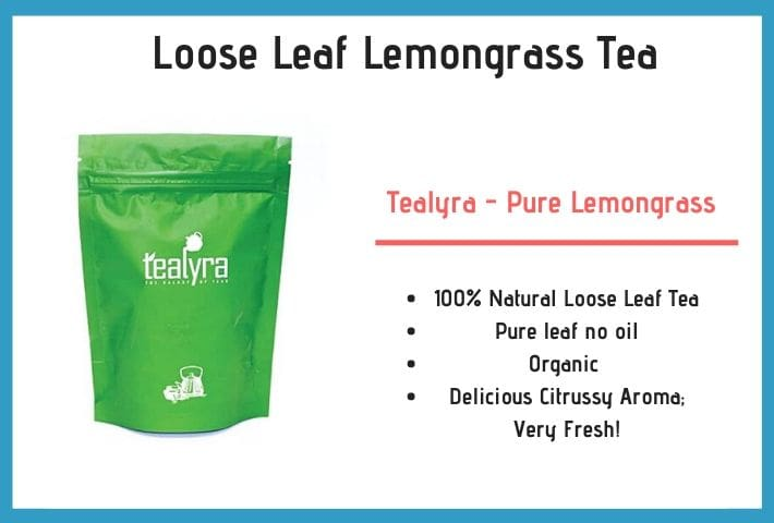 loose leaf lemongrass tea