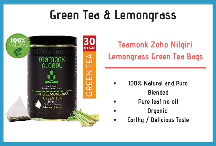 green tea & lemongrass green tea
