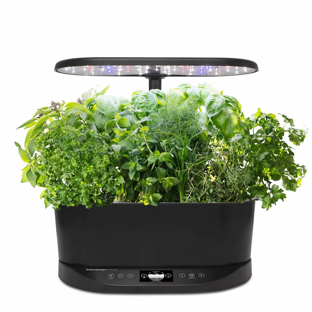 AeroGarden Harvest front view comparison