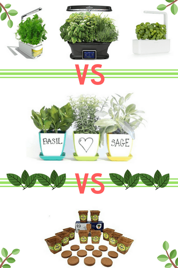 best indoor herb gardens featured image