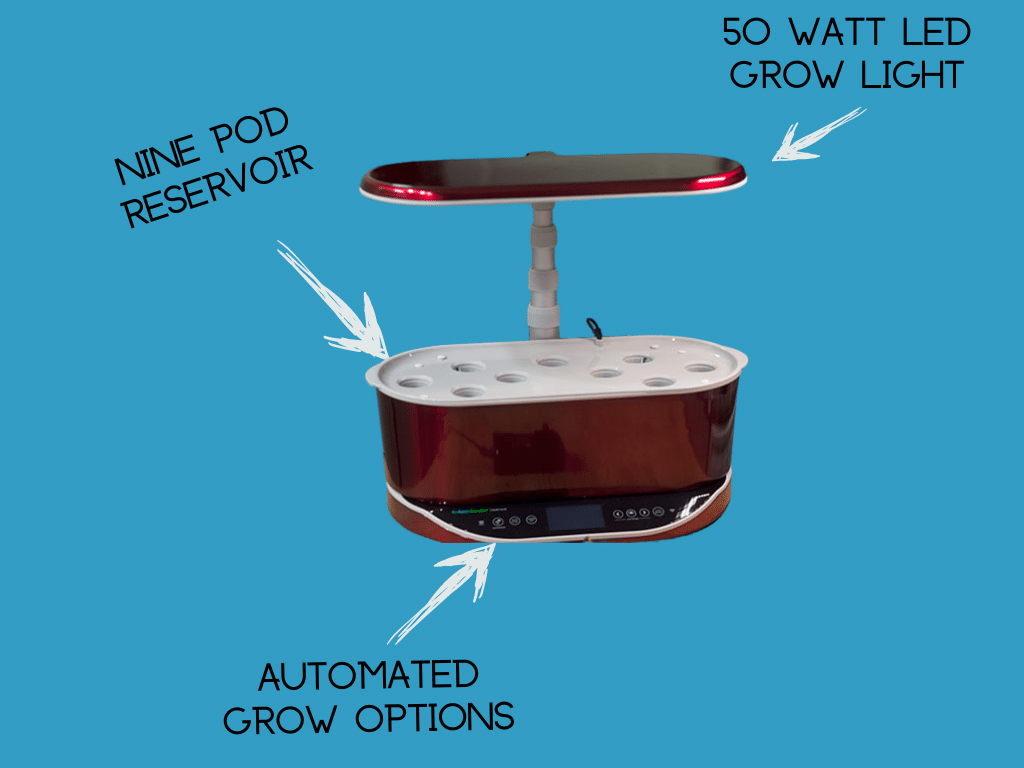 AeroGarden Bounty Diagram