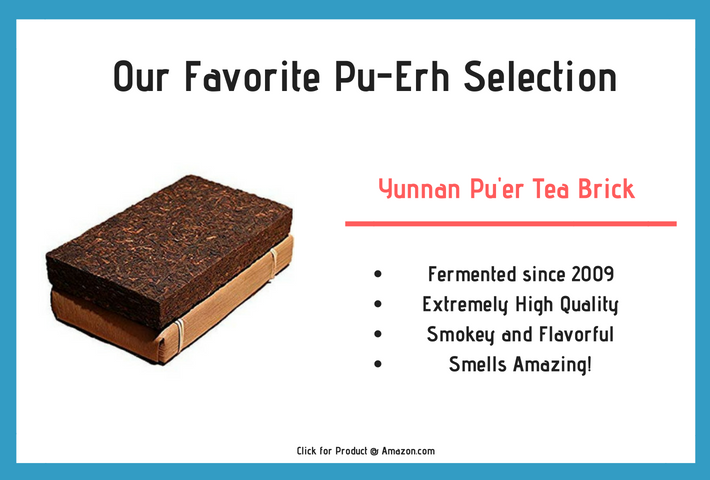 Our favorite pu-erh tea selection