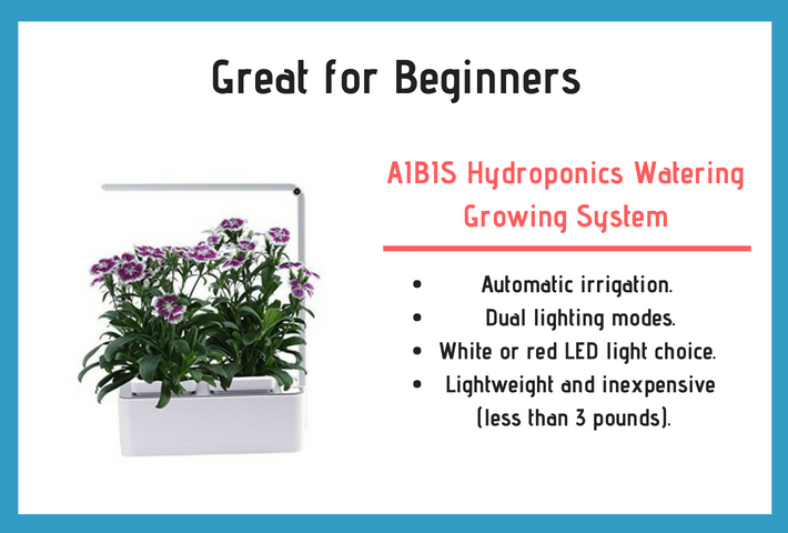 AIBIS Hydroponics Watering Growing System Review and Specifications