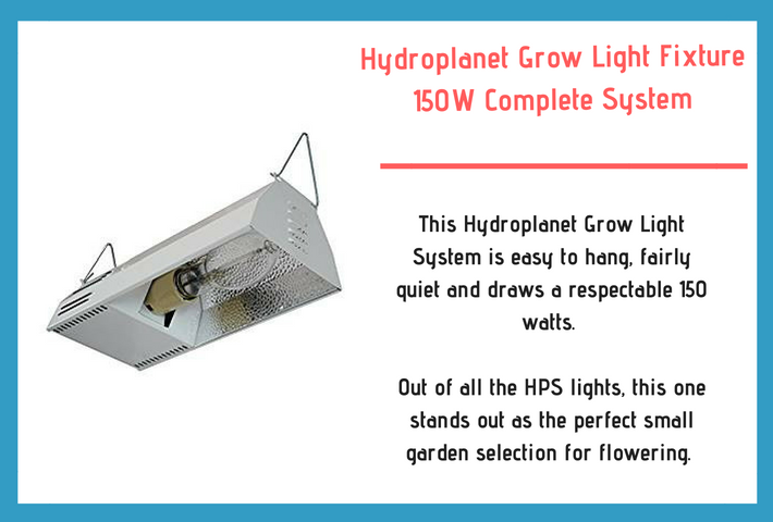 Hydroplanet grow light system diagram