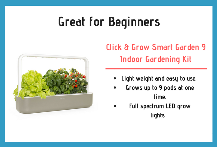 Click and Grow Smart Garden 9 Review and Product Specifications