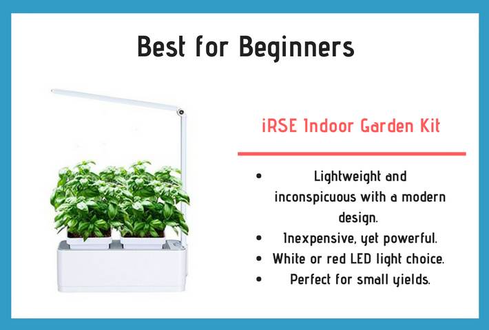 iRSE Indoor Garden Kit Review and Specifications