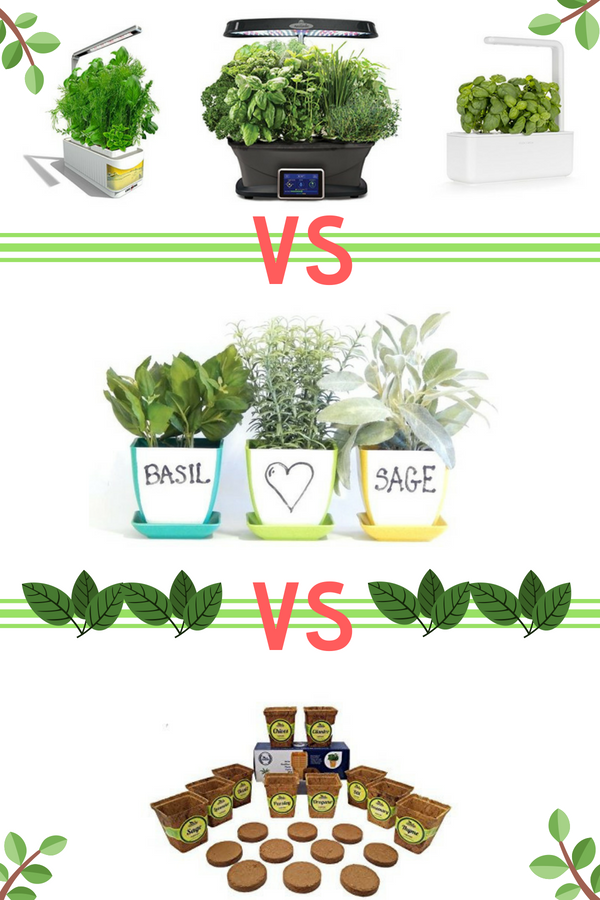 The Best Indoor Herb Garden Kits Header