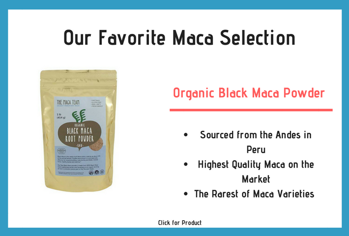 Our Favorite Black Maca Selection