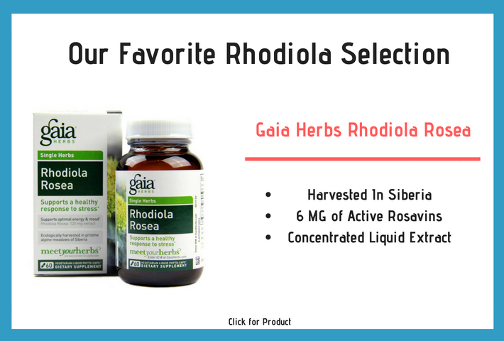 Our top Rhodiola Rosea pick